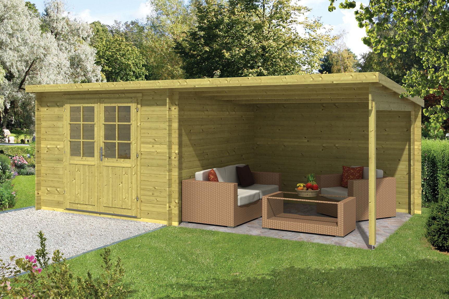 Een tuinhuisje bij uw nieuwe huis