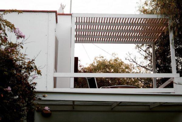 houten veranda